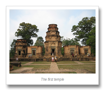 The magnificent Angkor (1/6)