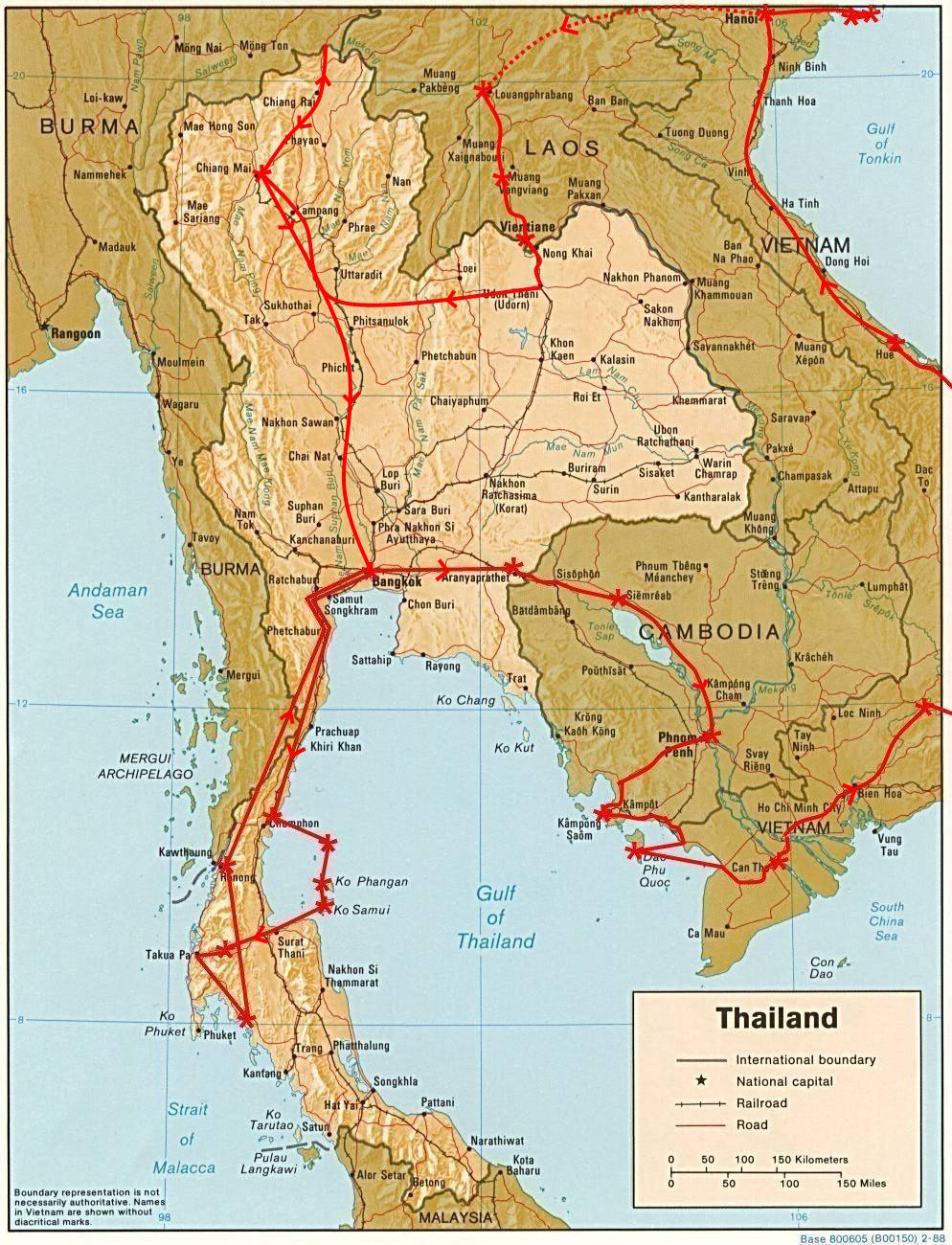 The trips on this blog – Trip Route Map