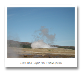 The Great Geysir and Gullfoss (2/3)